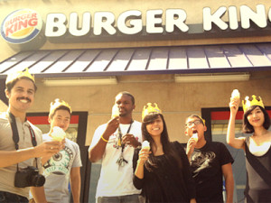"Burger King ""50 cents Soft Serve"""