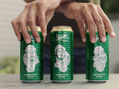 Sprite 'Fresh Faces' Campaign